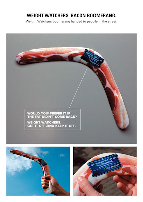 Creative and Interesting Advertisements Promoting Weight Loss.