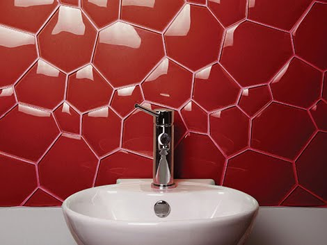 Modern and Cool Bathroom and Kitchen Tiles