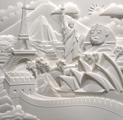 Paper Sculptures by Jeff Nishinaka (11) 7