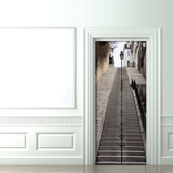 8 cool and creative 3d door stickers - Puertas originales interiores ...