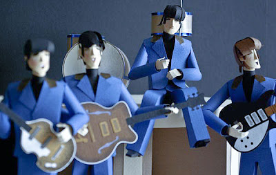 Cool and Creative Paper Made Musicians (6) 1