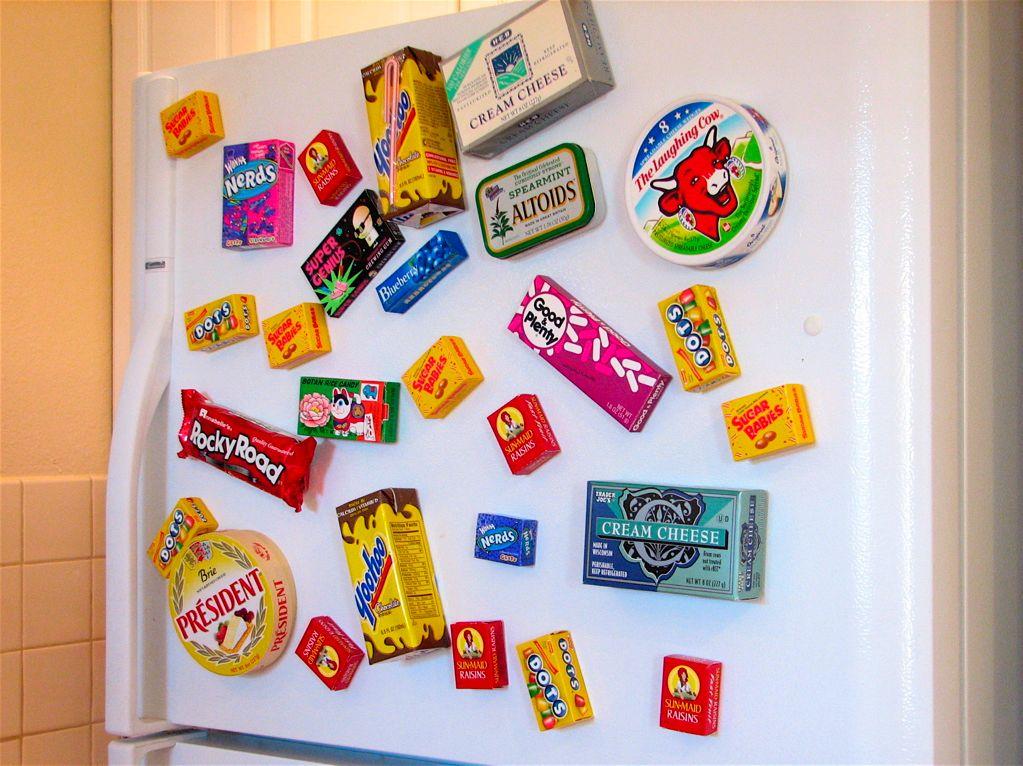 21 Creative and Cool Fridge Magnets.