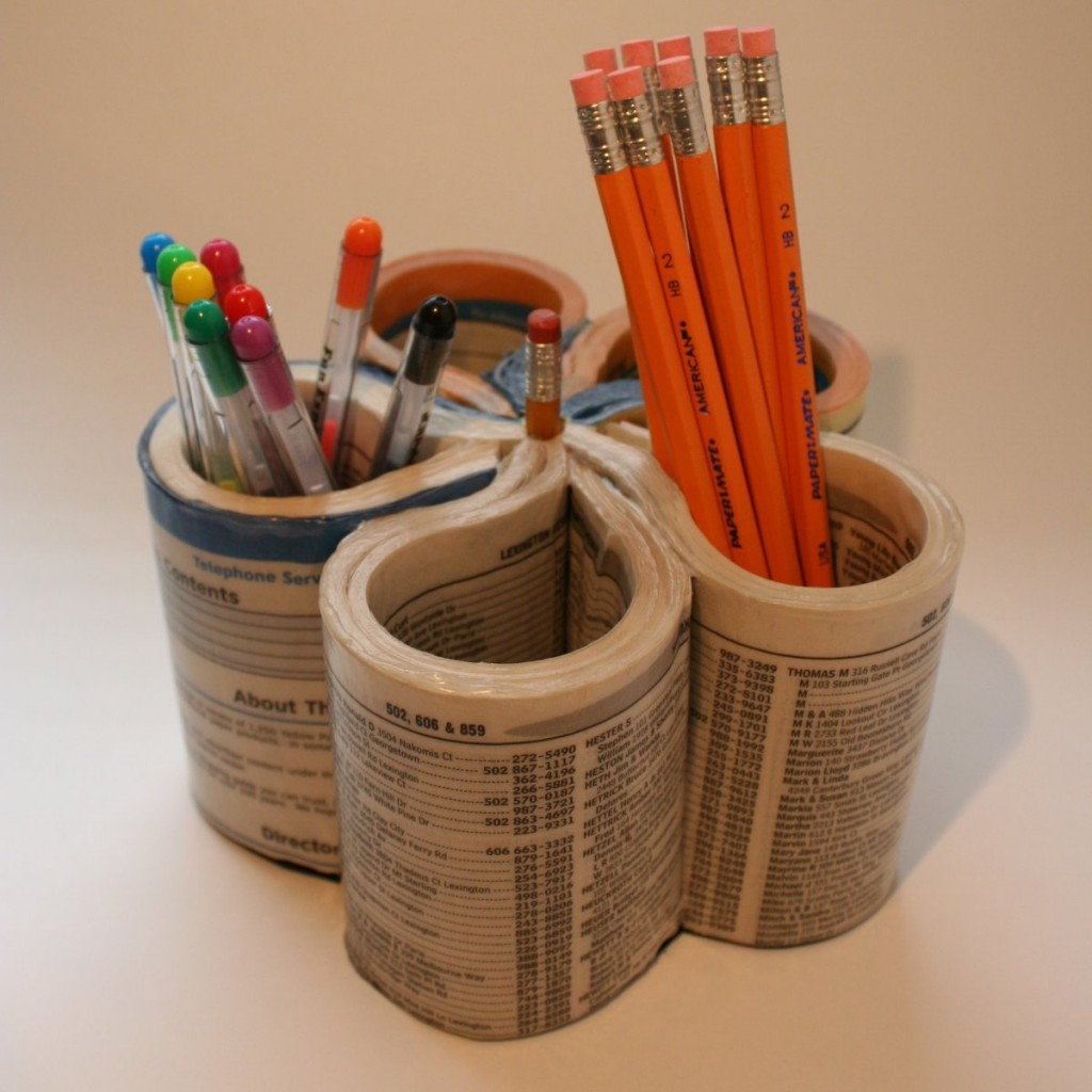 14 Creative and Cool Pen Holders.