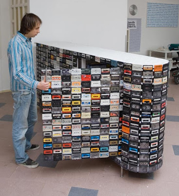 Creative Reuses of Cassette Tapes and Cassette Tape Cases (15) 4