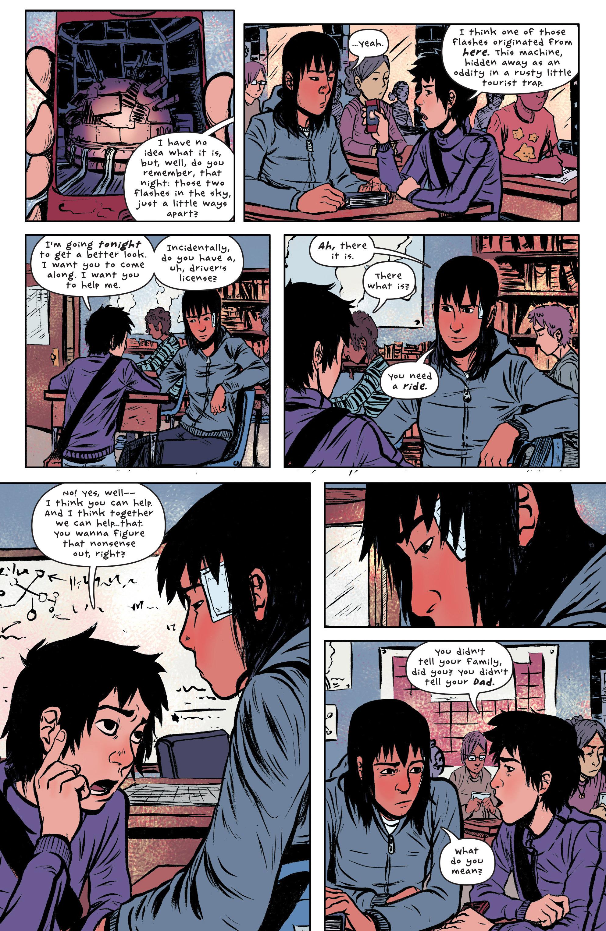 Read online UFOlogy comic -  Issue #3 - 14