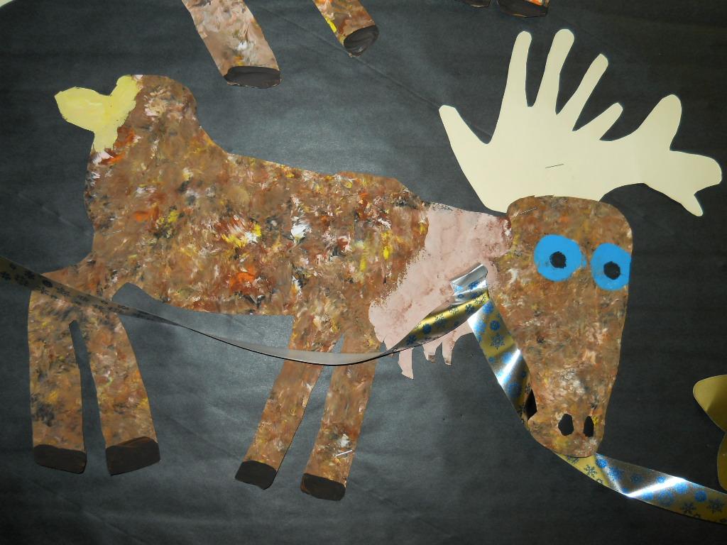 Fun Art 4 Kids Dubuffet Reindeer