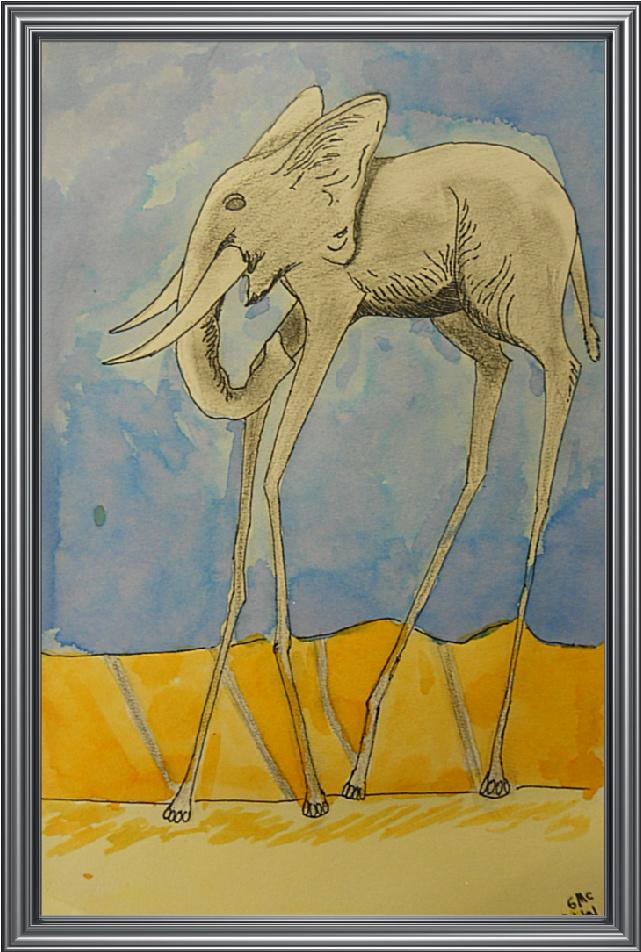 *Fun Art 4 Kids: Dali Elephants
