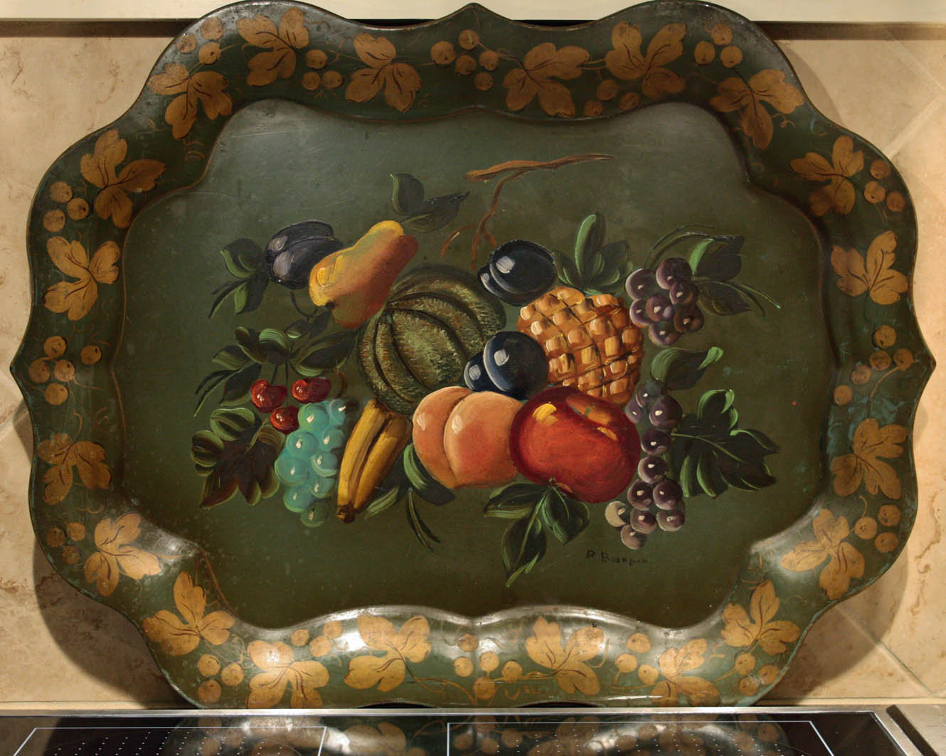 Southern Lagniappe: The Art of Fruit - Where To Purchase Plaques Or Other Art For A Kitchen