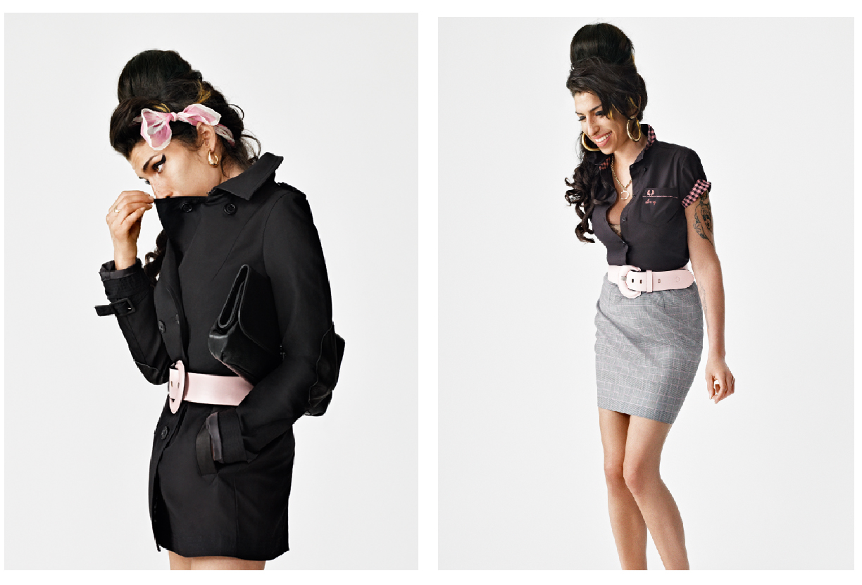 Amy Winehouse collaborates with Fred Perry: First Look