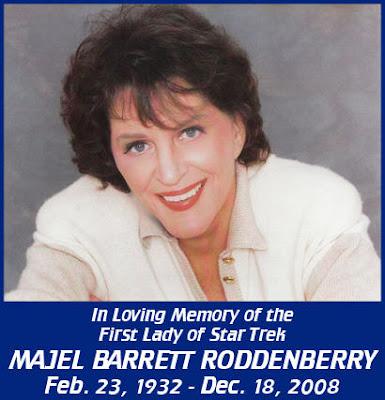 Kryptonian Warrior: Majel Barrett-Roddenberry Dies Aged 76