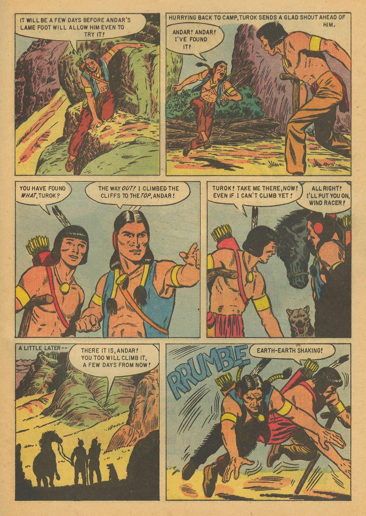 Read online Turok, Son of Stone comic -  Issue #8 - 33