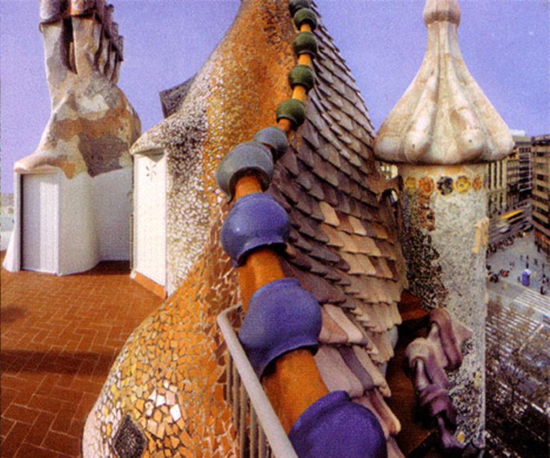 Whispered Whimsy Vintage Antoni Gaudi