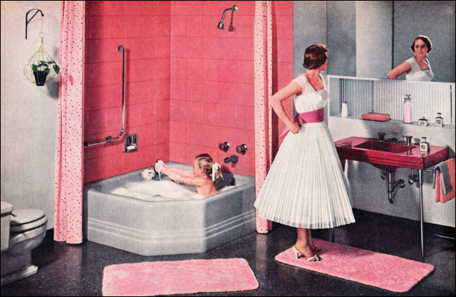 Color Marie In Praise Of 1950 S Bathrooms