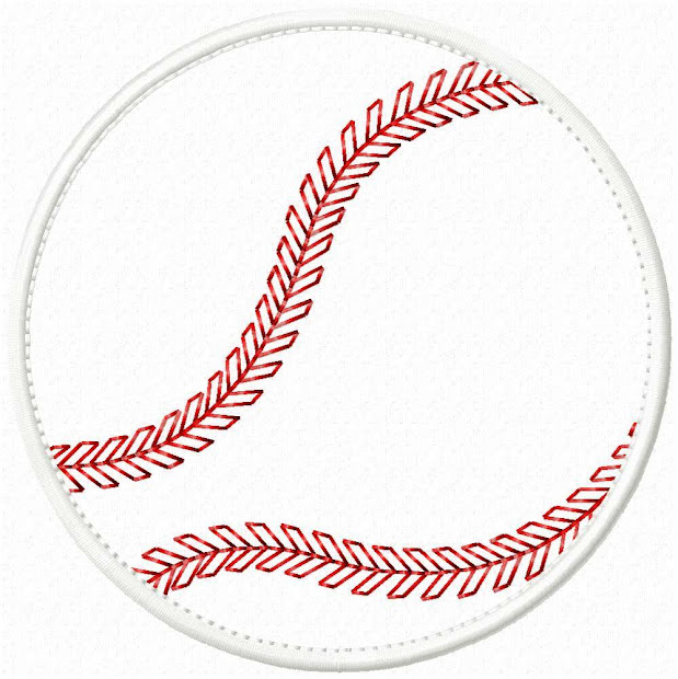 big dreams embroidery baseball