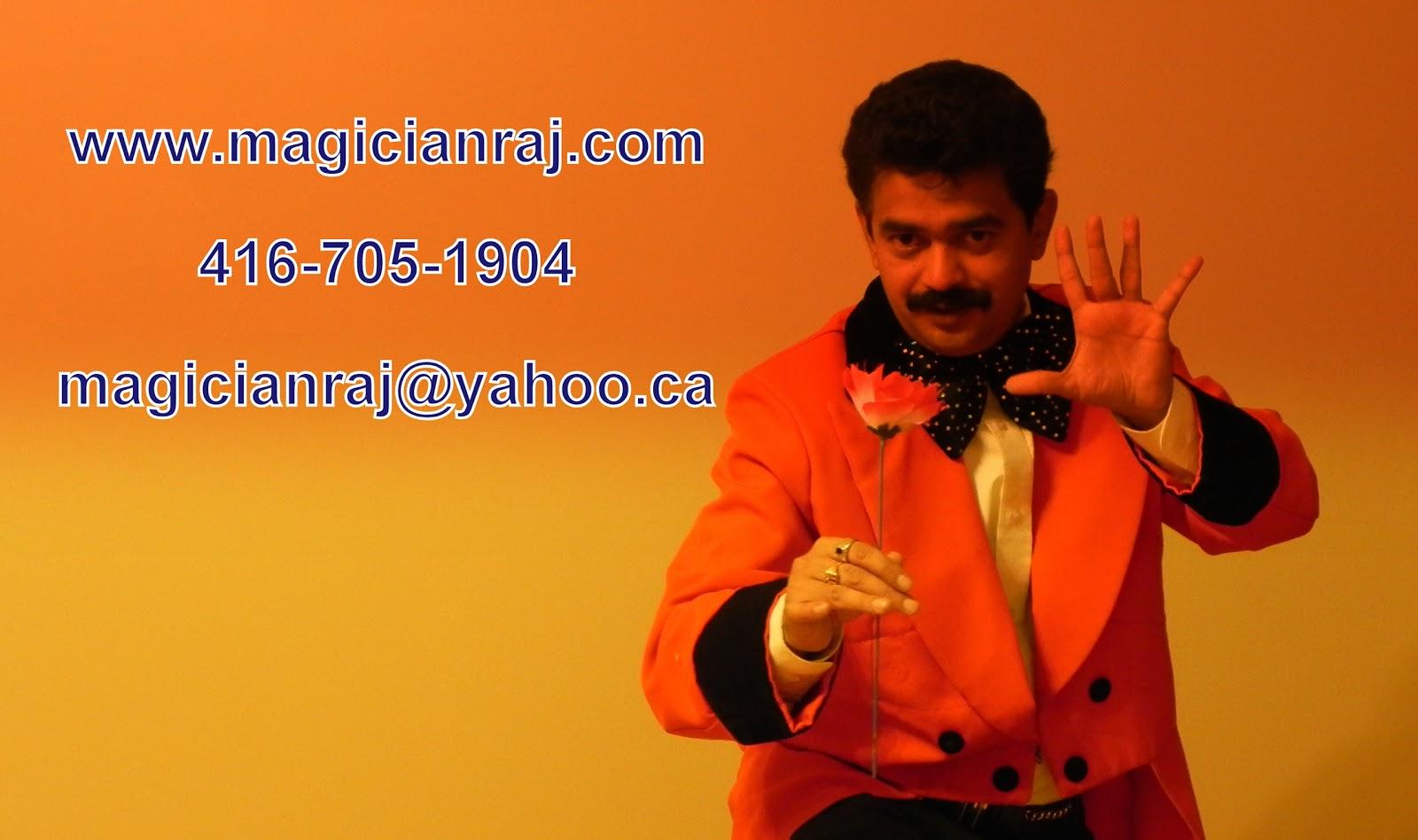 Professional Magician Toronto Canada