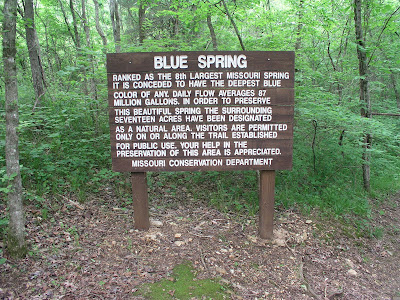902621a313 From the parking area it s a short walk to the spring. If you re attending the  Ozark Trail Associations work day next weekend