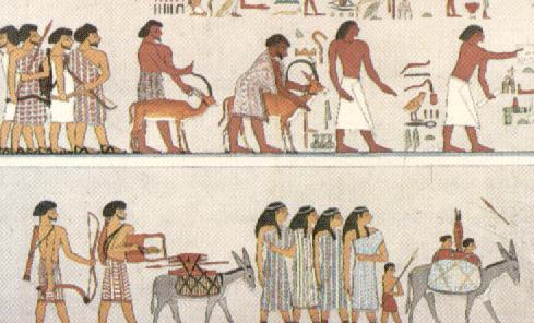 Aulabierta Los Artesanos Y Mercaderes En El Antiguo Egipto