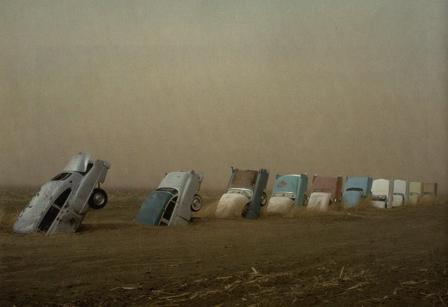 In Search Of The Center: 18 Days To Go: Cadillac Ranch