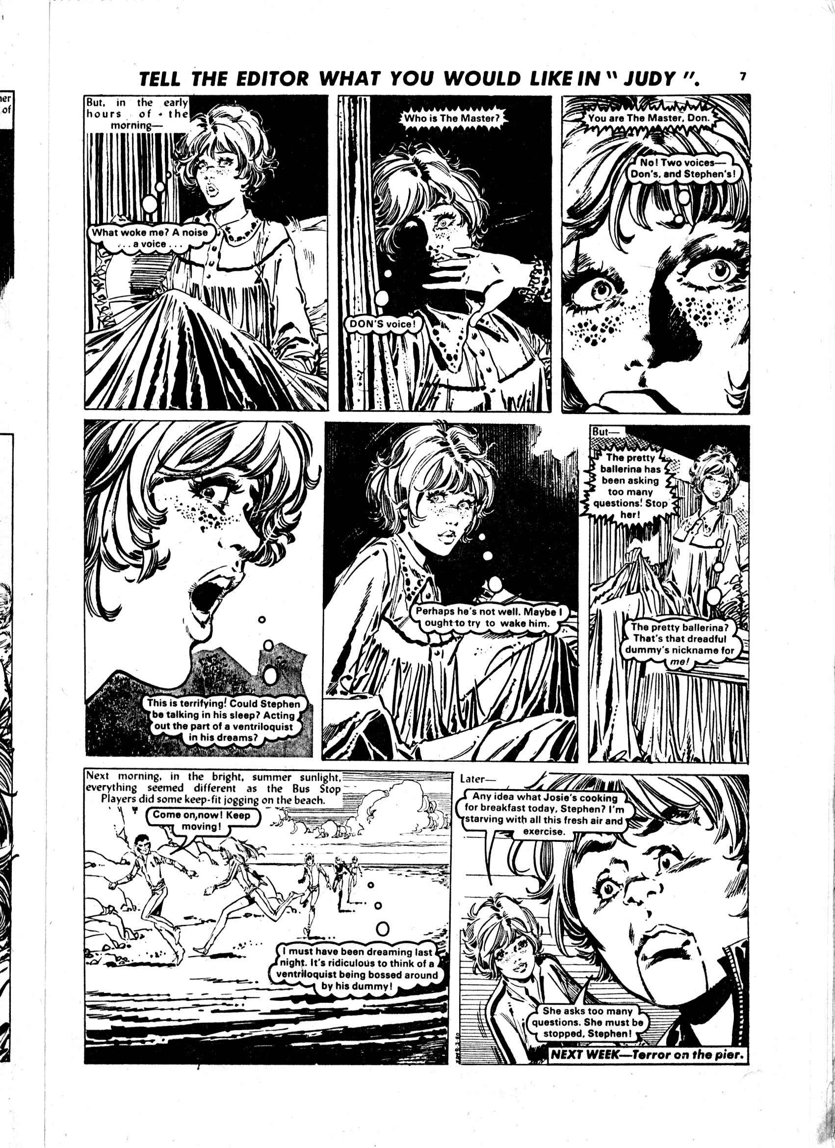 Read online Judy comic -  Issue #1052 - 7
