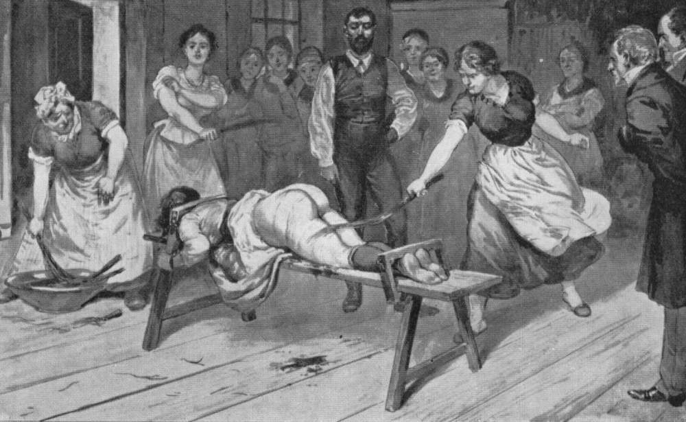 illustrations of whippings and floggings