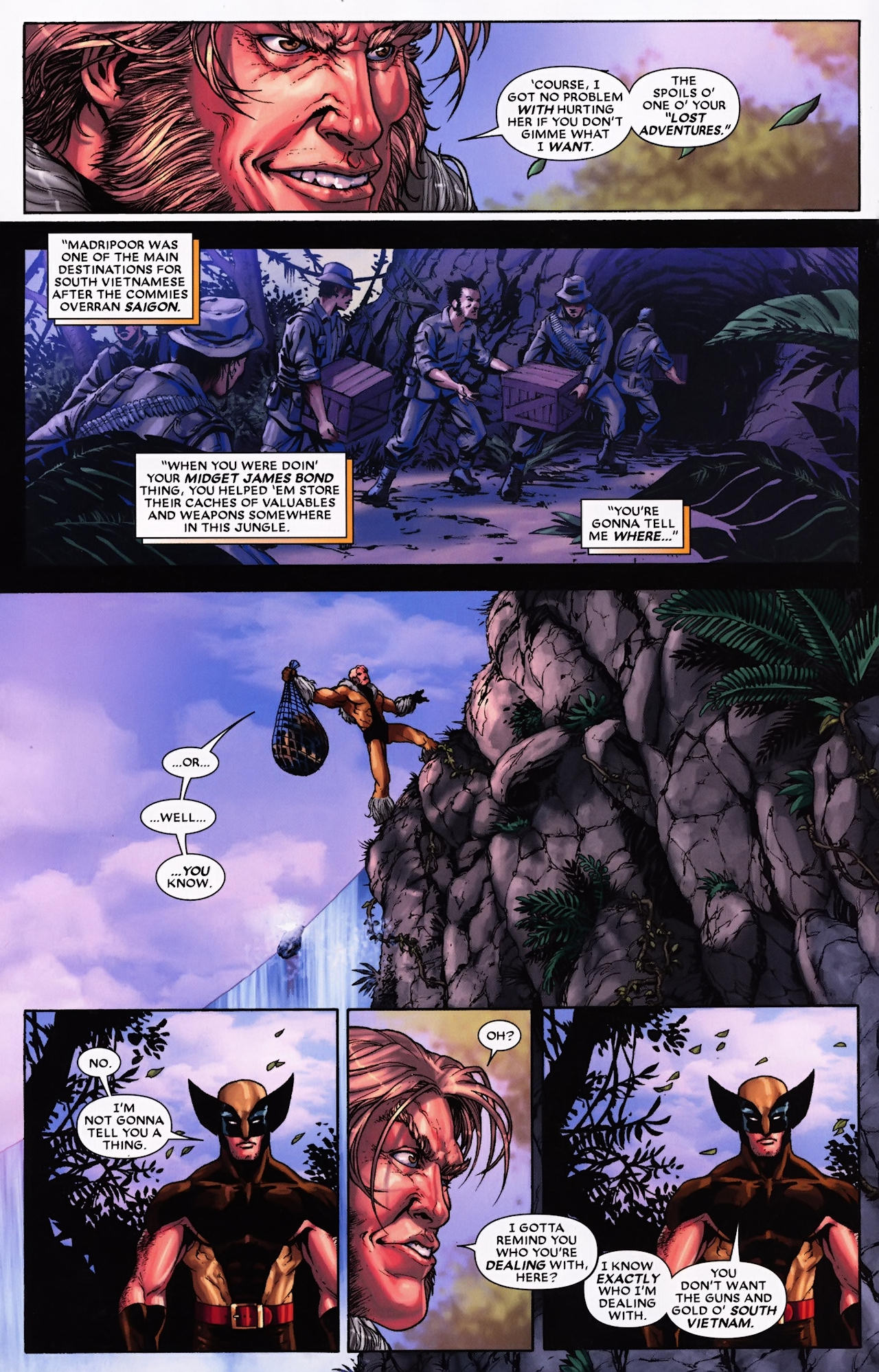 Read online Wolverine: First Class comic -  Issue #9 - 17
