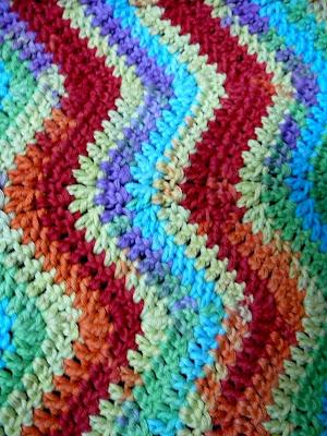 Lindevrouwsweb Baby Dekentje In Zigzag
