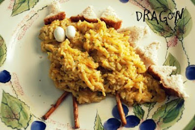 dragon food rice