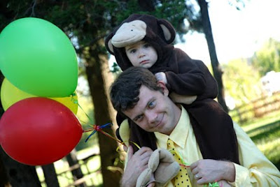 Curious George Man with yellow hat costume