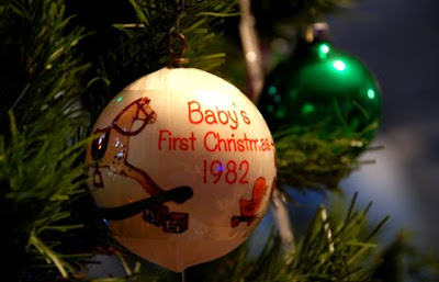 baby's first Christmas 1982