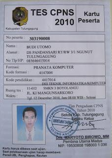 Cpns Tulungagung Pusat Soal Cpns No1 Indonesia 2007 2016 Serba Serbi Surat Balasan Peserta Cpns 2010 Pemkab Tulungagung