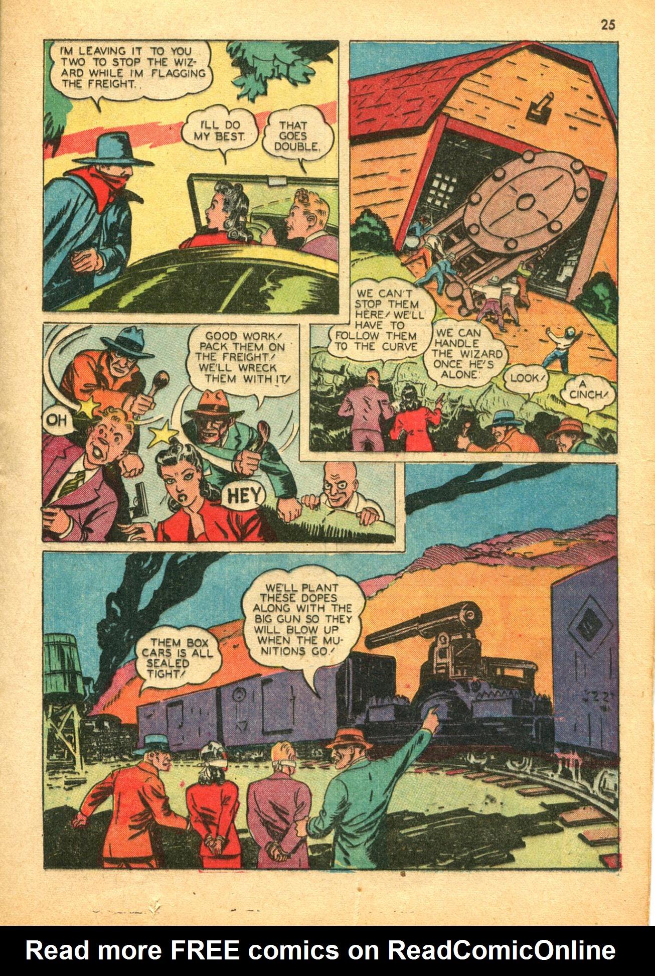 Read online Shadow Comics comic -  Issue #30 - 25