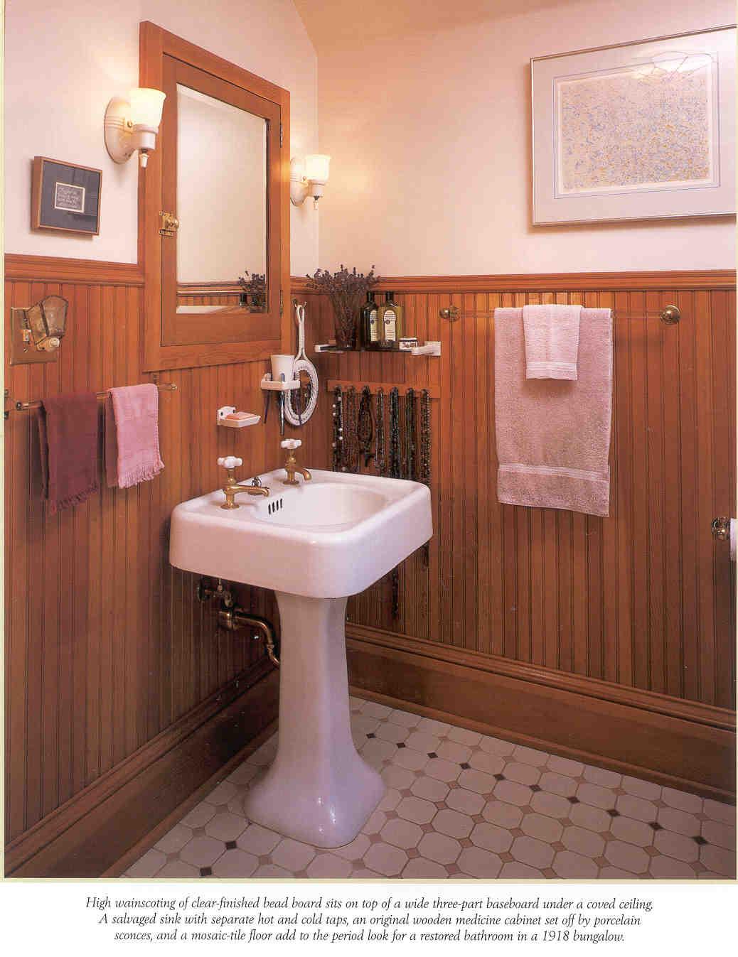 Laurelhurst Craftsman Bungalow Master Bathroom Planning
