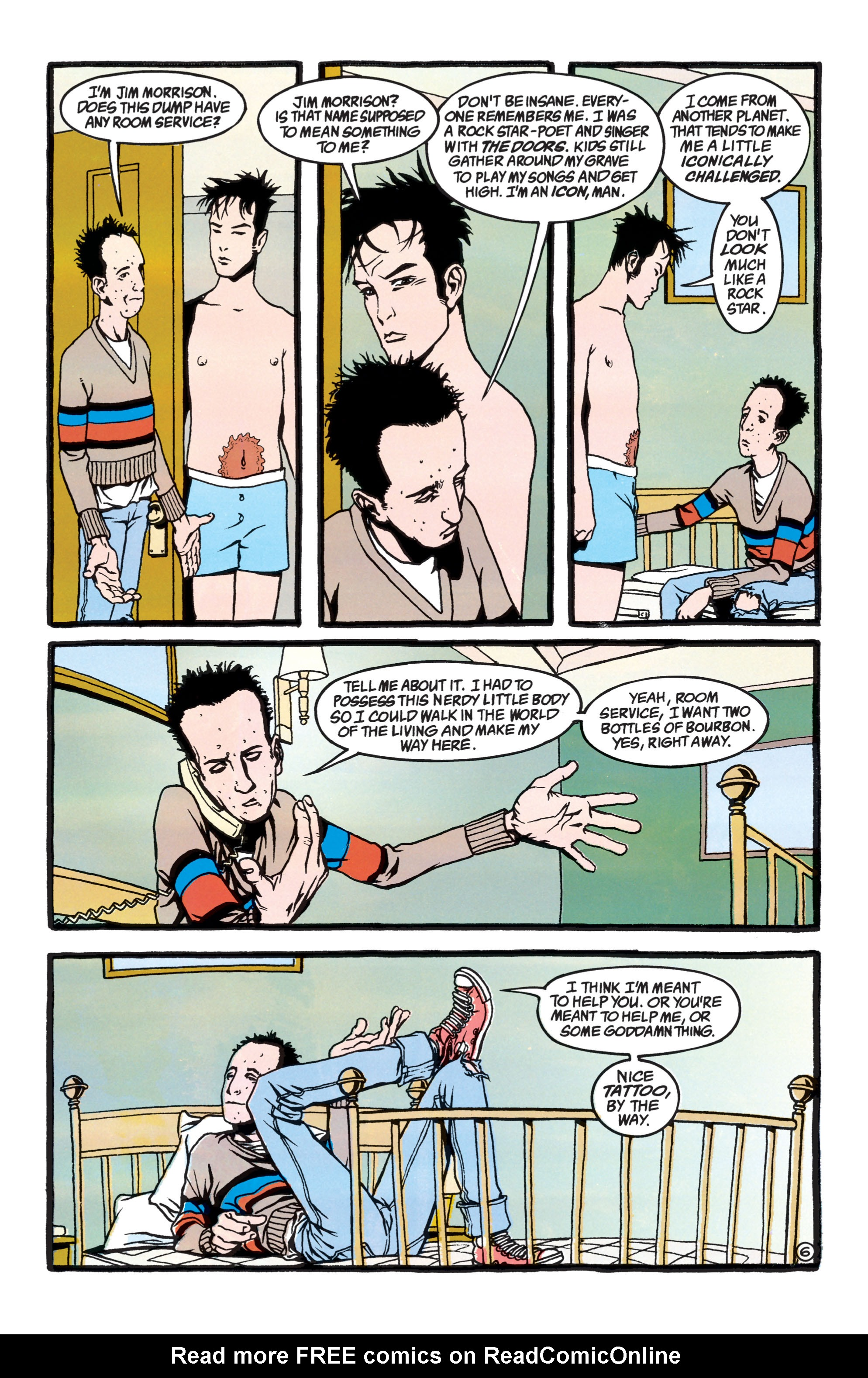 Read online Shade, the Changing Man comic -  Issue #40 - 7
