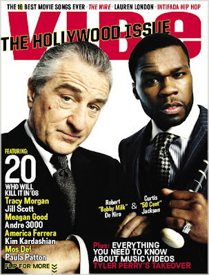 50 Cent Covers VIBE's Hollywood Issue