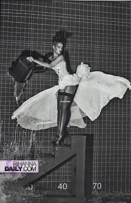 Rihanna Italian Vogue Shoot
