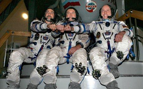Nasa International Space Station: Russian, US astronauts ...