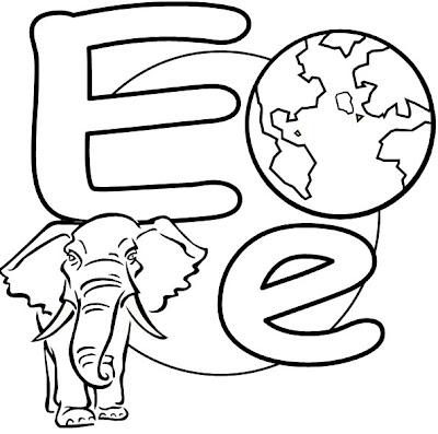 the letter e - 824×805