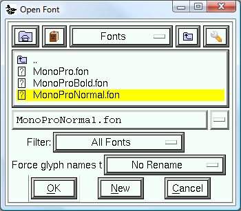 Electronic Dissonance: Raster fonts in Visual Studio 2010