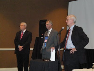 From left - Jeffrey Cannell, James Dawson and Richard Mills