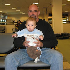 Hank & Me hanging at the airport..