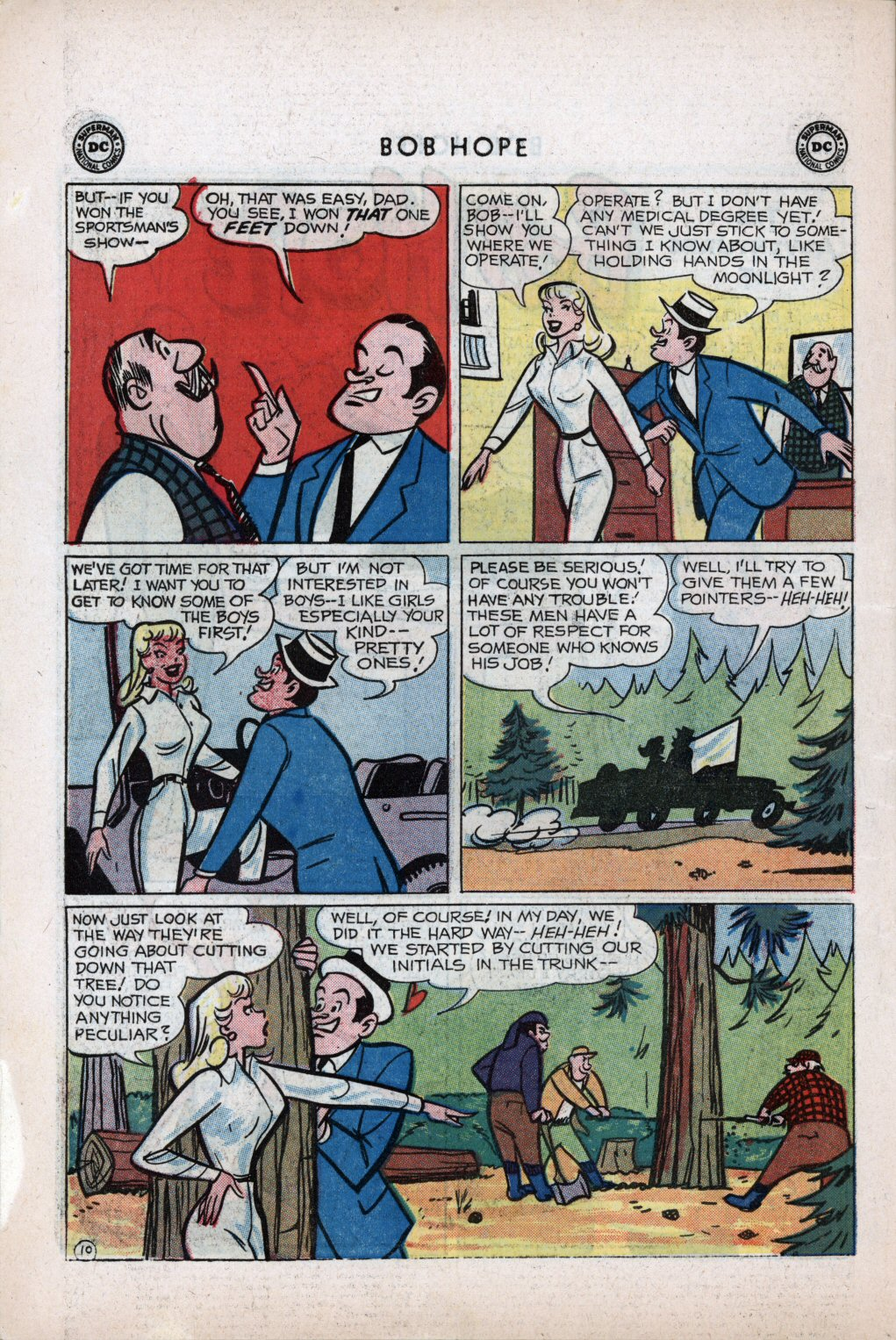 The Adventures of Bob Hope issue 59 - Page 14