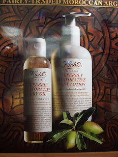 make your own...or buy Keihls body cleansing oil and lotion using Argan oil.