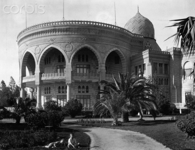 """The famous round balcony and hall """"Corbis"""""""