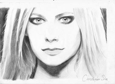 My Drawings | Animator Hari |Simple Pencil Portraits