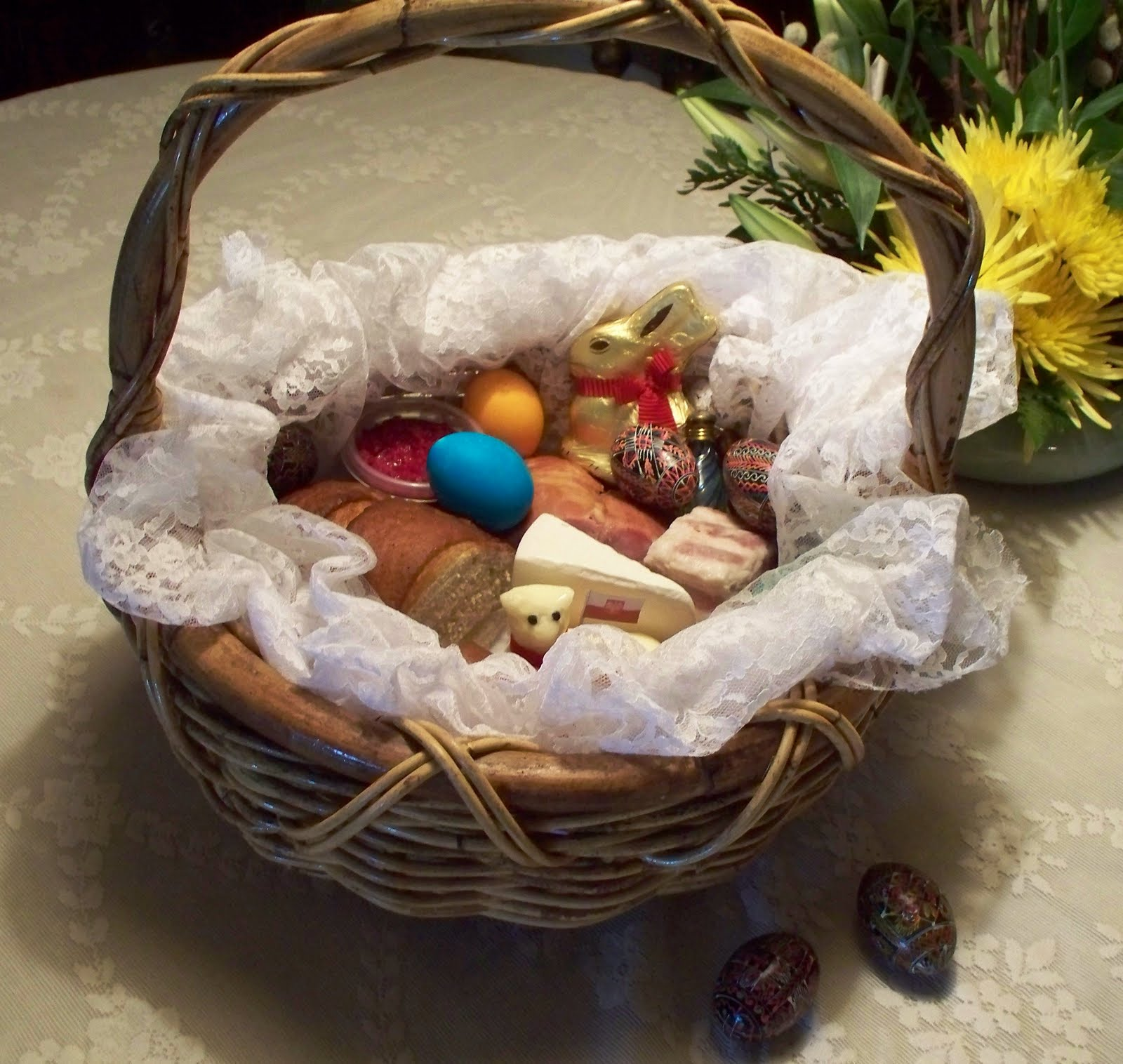 From My Family's Polish Kitchen: Polish Easter Basket Blessing