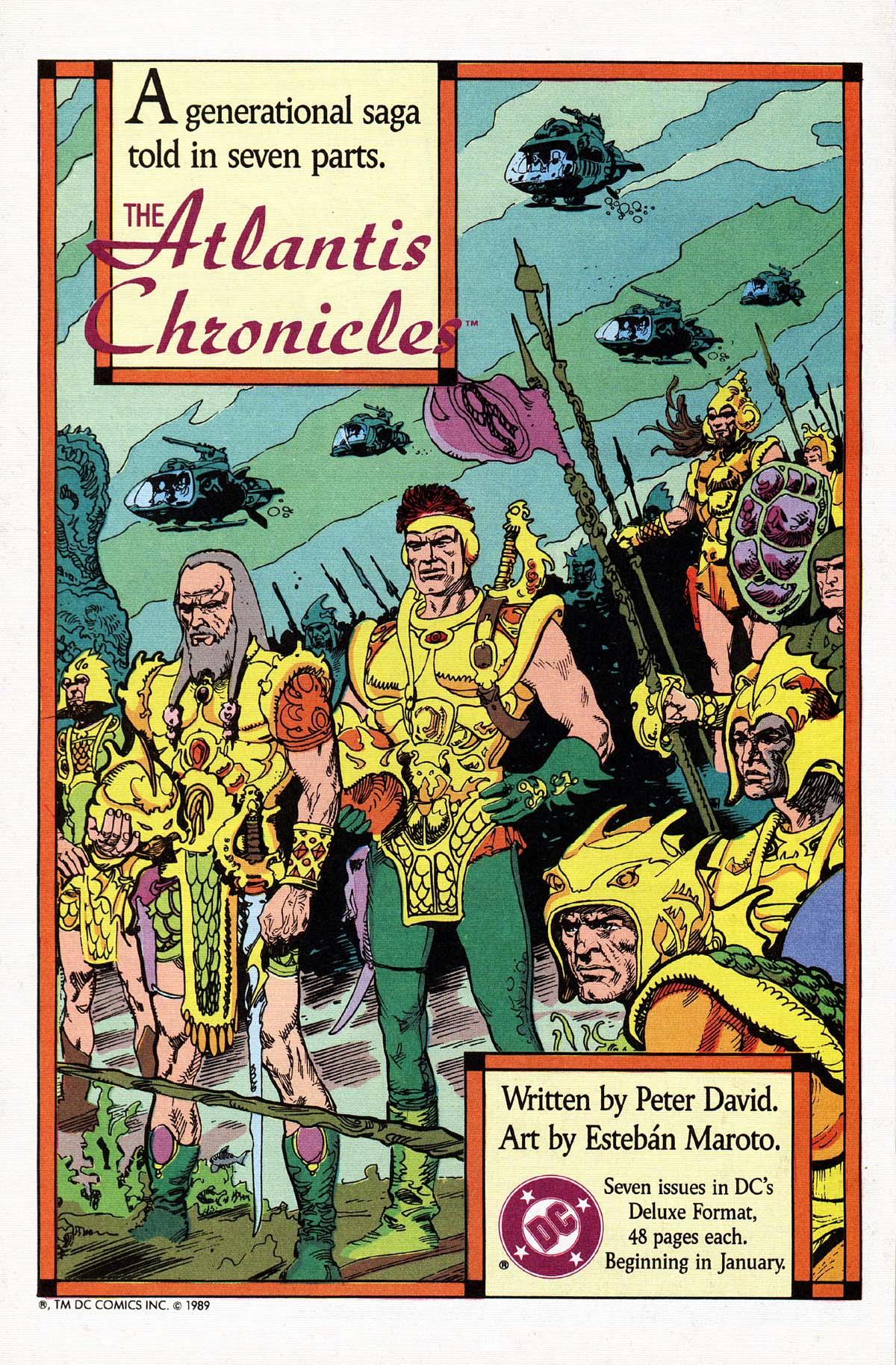 Read online Advanced Dungeons & Dragons comic -  Issue #15 - 21