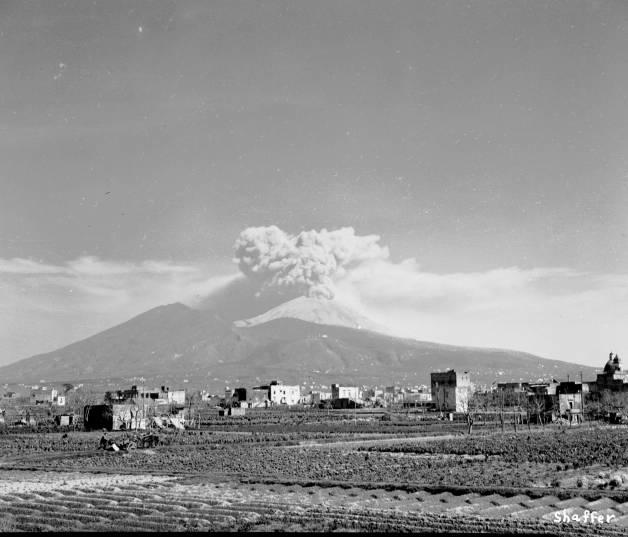 La erupcin del Vesubio de 1944  Una breve historia