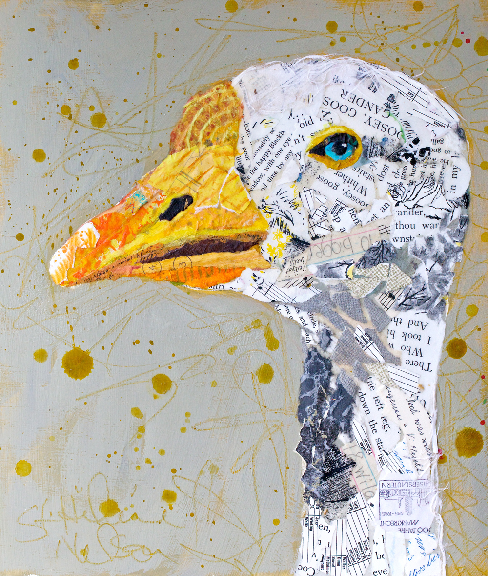 Artists: Paper Paintings: For The Birds