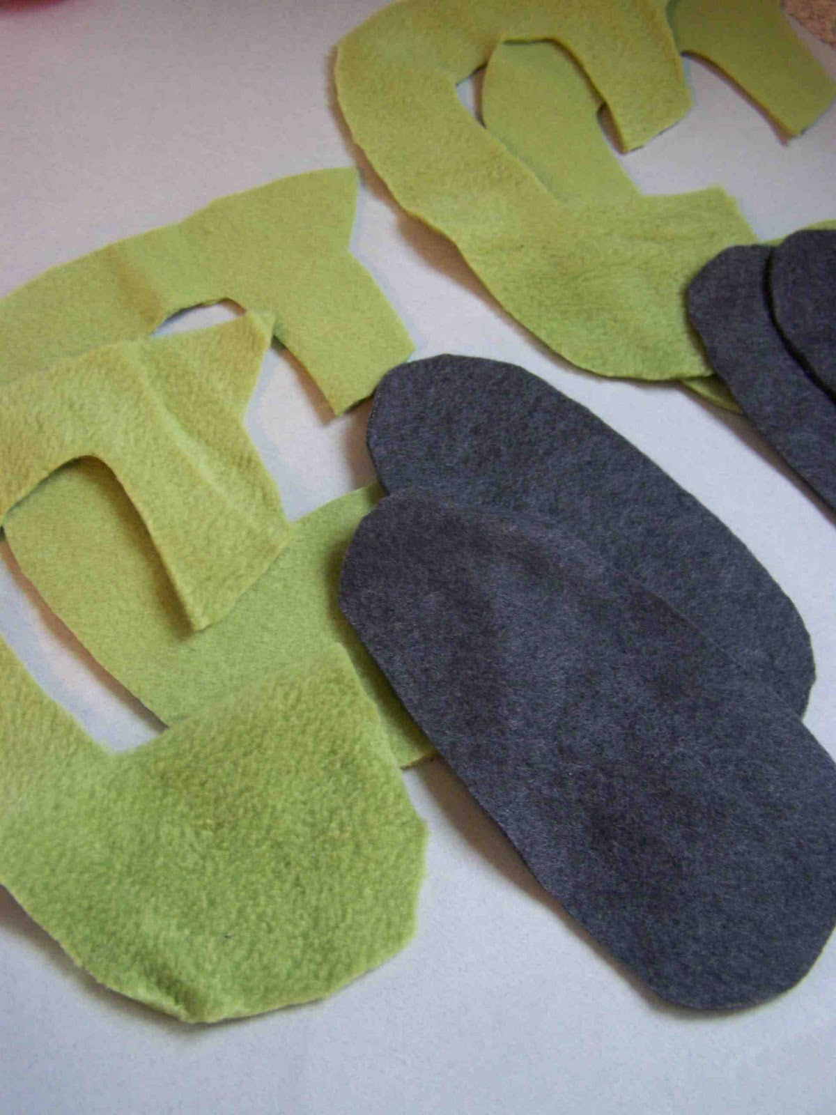 Fleece Slipper Patterns Free Patterns