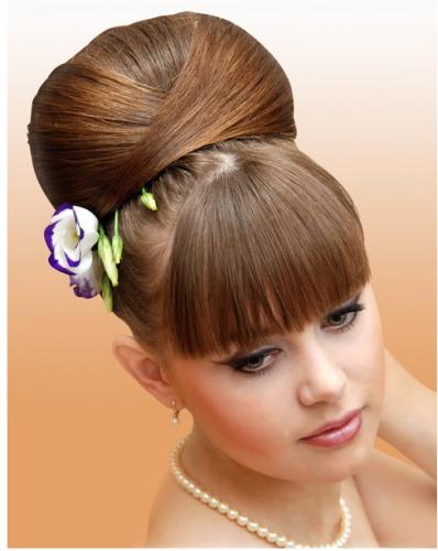 peinado up do para novia